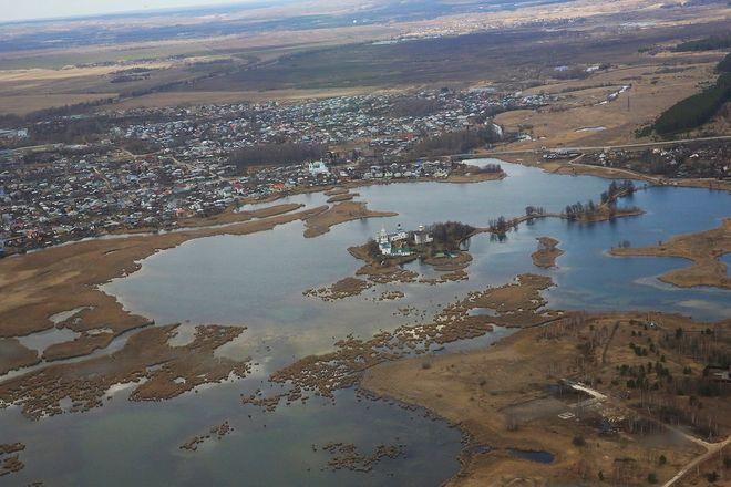 Митрополит Георгий совершил на вертолете крестный ход против коронавируса вокруг Нижегородской области - фото 6