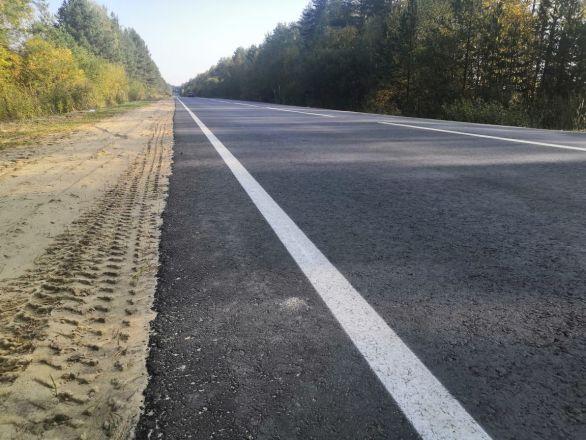 Десять километров дороги Городец – Ковернино отремонтировали почти за 60 млн рублей - фото 5