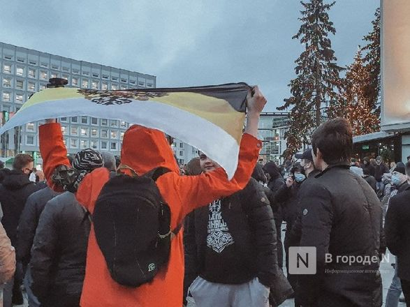 «Мама, мы дошли до Свободы»: каким был третий протестный митинг в Нижнем Новгороде - фото 3