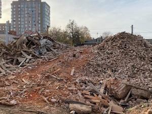 Исторический дом XIX века снесли на улице Ильинской