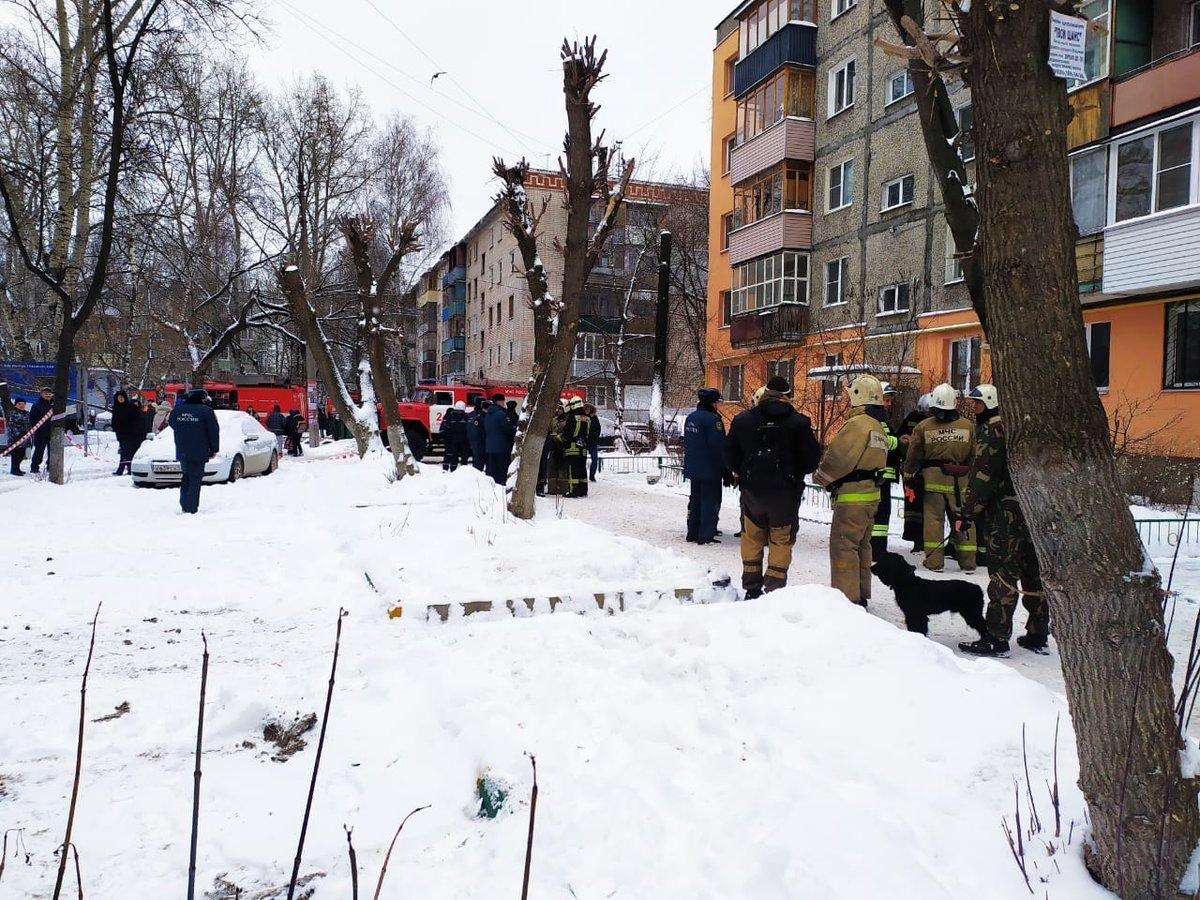 Жители сормовской многоэтажки вернулись в квартиры после взрыва