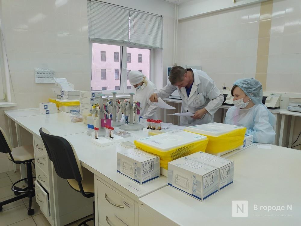 До 11 увеличилось количество лабораторий, проводящих тесты на COVID-19 в Нижегородской области