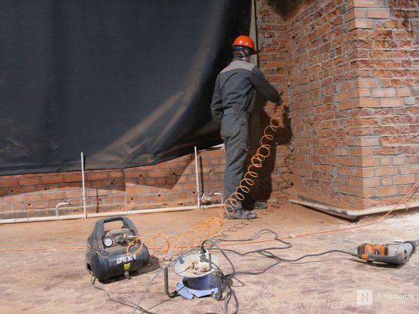 Инъекция для стен: как идет реставрация фасада нижегородской фабрики «Маяк» - фото 32