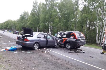 Массовое ДТП в Борском районе: четыре человека погибли, три пострадали