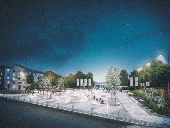 Игровая плошадка-корабль и яблоневый сад: что изменилось в концепции благоустройства площади Буревестника - фото 6