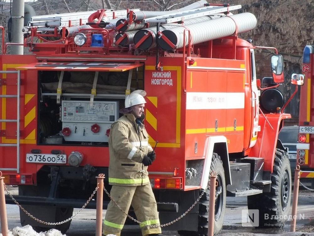 Три человека погибли на пожаре в Шатковском районе - фото 1