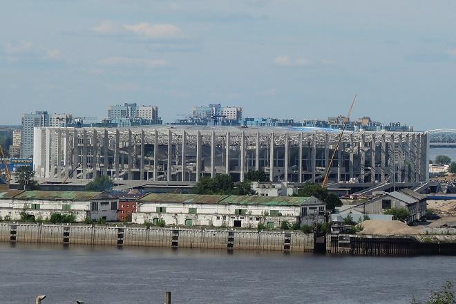 МинстройРФ высоко оценил готовность нижегородского стадиона кЧМ