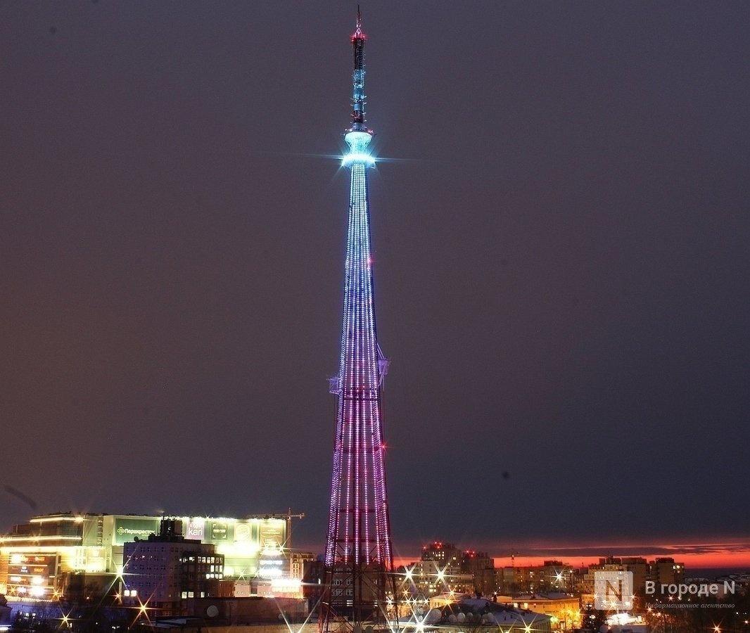 Праздничная подсветка в честь Дня Победы загорится на трех нижегородских телебашнях  - фото 1