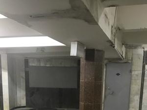 Подземный переход протек на станции «Канавинская»