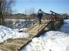 В Нижегородской области затоплено три низководных моста