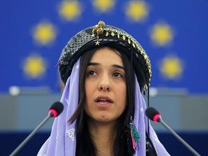 Бывшая пленница ИГИЛ получила нобелевскую премию мира за борьбу с секснасилием