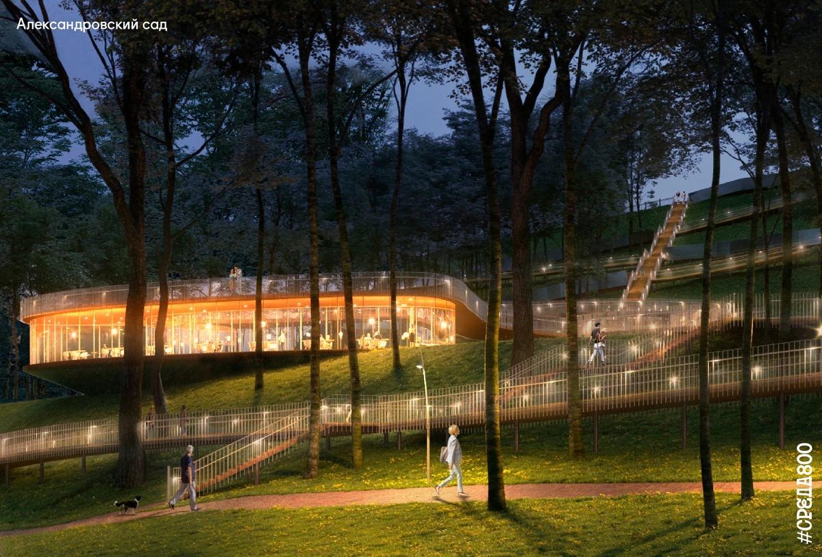Возродить легендарную ракушку и задействовать подземелье планируется в Александровском саду - фото 6