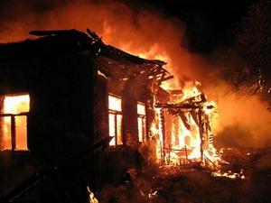 Мужчина заживо сгорел в дачном доме в Балахнинском районе