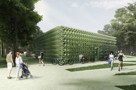 Павильон проката спортинвентаря появится в парке «Швейцария»
