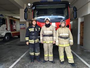 Пожарные рассказали, как отговаривали нижегородца прыгать с моста