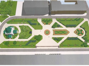 Депград показал, как будет благоустроена центральная площадь Нижегородского кремля