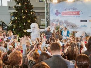 «Луидор» устроил новогоднее гулянье для сотен нижегородцев и их детей