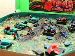 Танковое сражение в коробке из-под пиццы: первые работы поступили на конкурс от нижегородского Главка «Навстречу Победе»