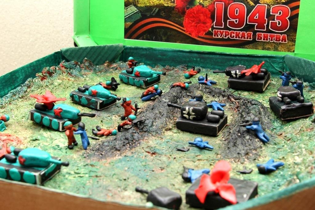 Танковое сражение в коробке из-под пиццы: первые работы поступили на конкурс от нижегородского Главка «Навстречу Победе» - фото 1