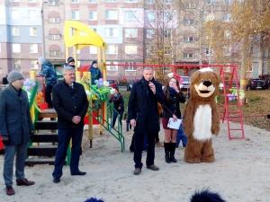 Новая детская площадка открылась в Кстове