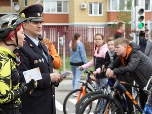 13 юных велосипедистов попали в ДТП с начала года