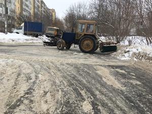 В ночь на 20 февраля в Нижнем Новгороде очистят от снега около 40 улиц