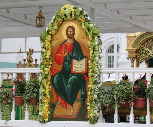 Патриарх Кирилл возглавил божественную литургию в Дивееве  - фото 13