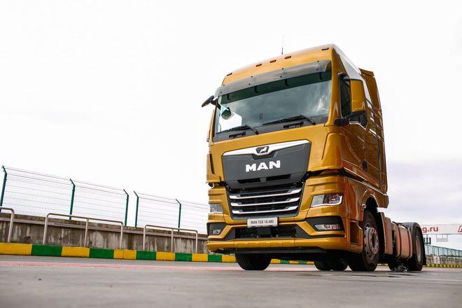 Немецкий лев в России: нижегородцам показали новые грузовики MAN - фото 14
