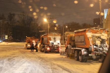 Панов в очередной раз лично проверил уборку дорог в Нижнем Новгороде