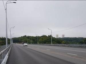 Мызинский мост полностью открыли в День города