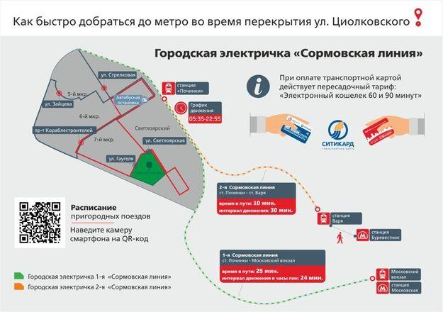 Стало известно расписание электричек от Починок до Вари и Московского вокзала - фото 4