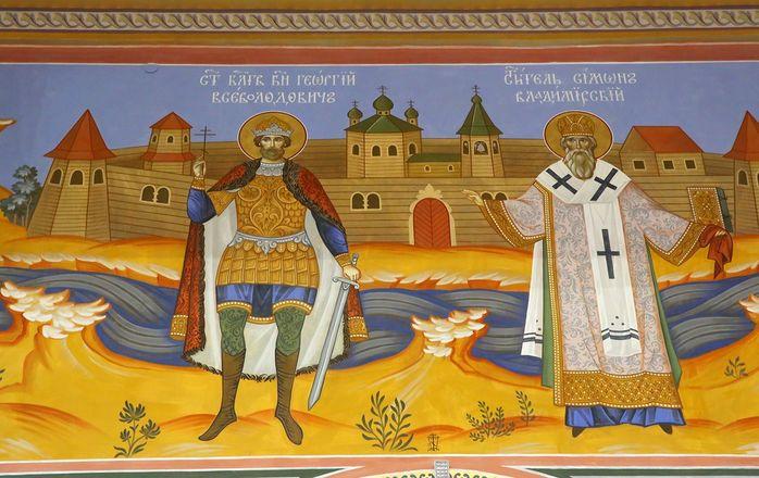 Уникальные росписи украсили храм князя Георгия Всеволодовича в Нижнем Новгороде - фото 2