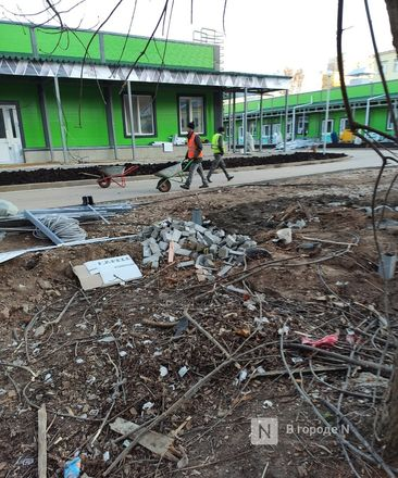 Строители инфекционного госпиталя раскурочили двор жителям с улицы Генкиной - фото 16