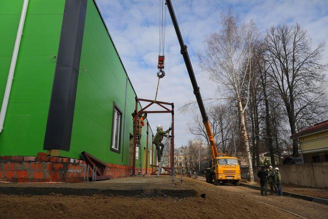 Строительство инфекционного госпиталя завершается в Нижнем Новгороде - фото 5