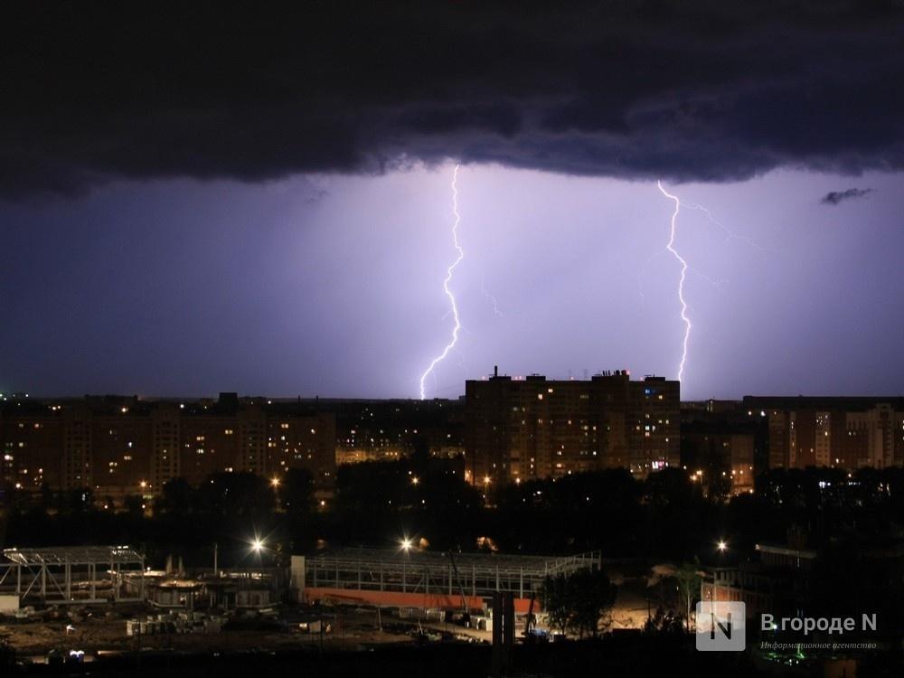 Гроза с градом накроет Нижегородскую область в ближайшие три часа - фото 1