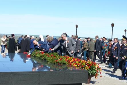 73-ю годовщину Великой Победы отмечают в Нижнем Новгороде