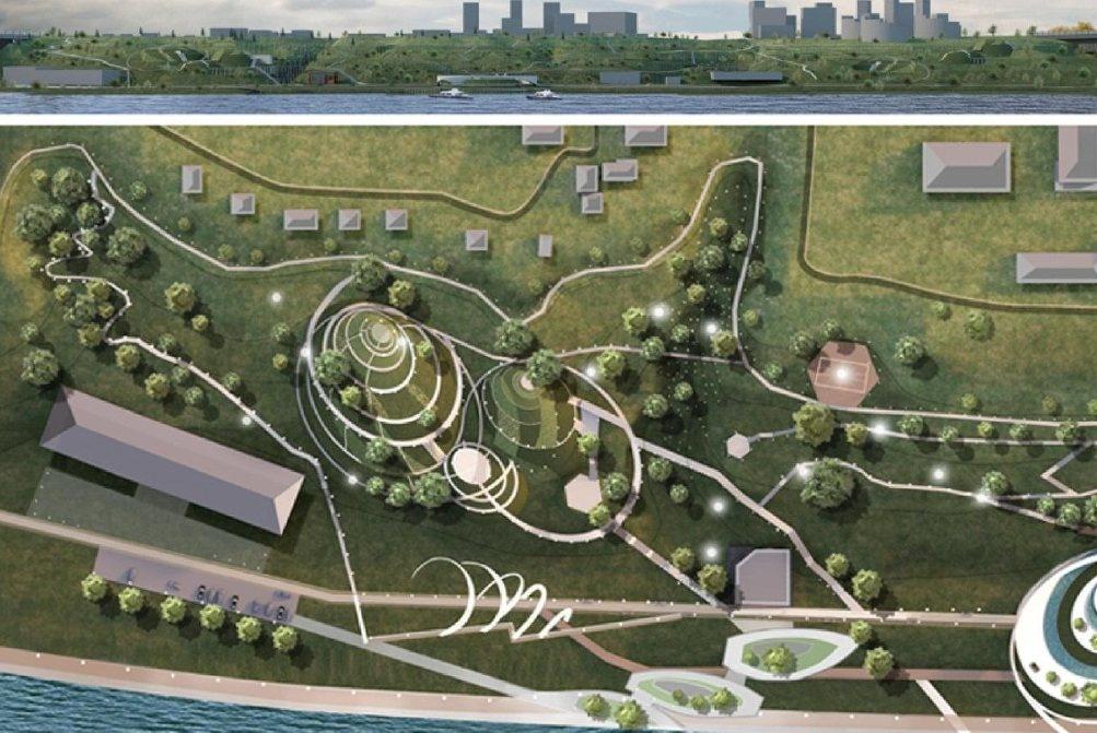 Девять вариантов развития парка «Горки» предложили нижегородские студенты - фото 10
