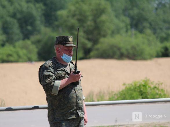 Танкисты в масках: первая репетиция парада Победы прошла в Нижнем Новгороде - фото 22