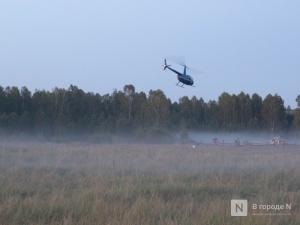 Потерявшегося в ковернинском лесу нижегородца нашли благодаря вертолету