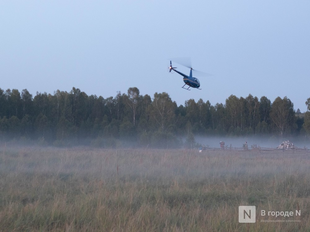 Потерявшегося в ковернинском лесу нижегородца нашли благодаря вертолету - фото 1