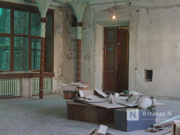 Единство двух эпох: как идет реставрация нижегородского Дворца творчества - фото 38
