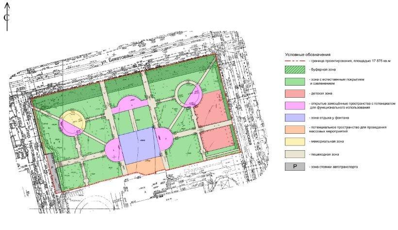 Велопарковка и скамейки-половинки: каким станет сквер у гимназии № 53 - фото 3
