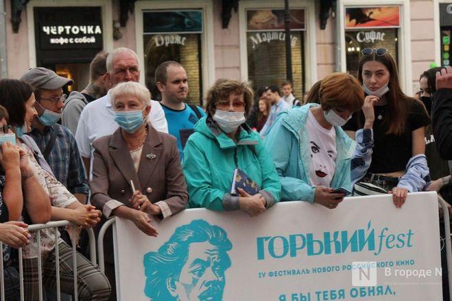 Маски на красной дорожке: звезды кино приехали на «Горький fest» в Нижний Новгород - фото 13