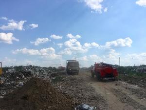 На Сергачском полигоне ликвидировали открытый огонь
