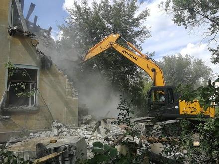 Аварийный дом с 90-летней историей снесли в Сормове