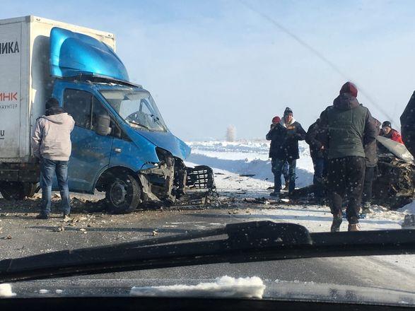 Серьезная авария с участием трех автомобилей произошла на трассе под Арзамасом - фото 3
