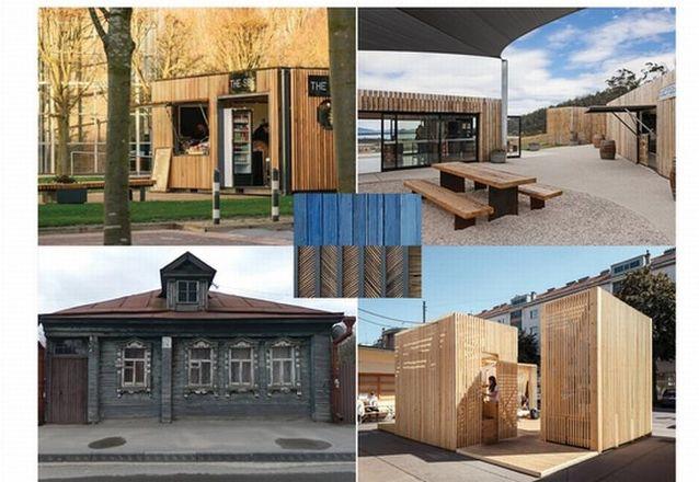 Деревянные павильоны и скульптуру предложено установить около нижегородской станции канатной дороги - фото 6