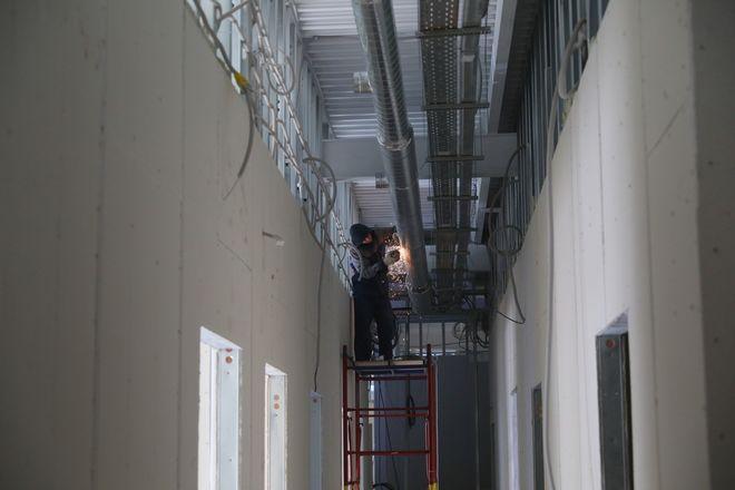 Строительство инфекционного госпиталя завершается в Нижнем Новгороде - фото 2