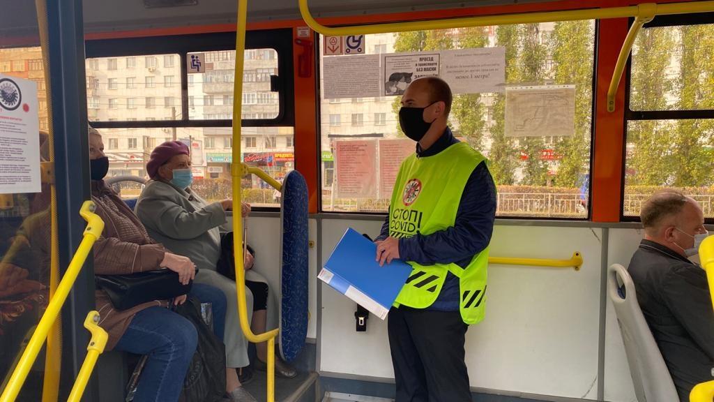 710 проверок масочного режима провели в транспорте Нижегородской области - фото 1