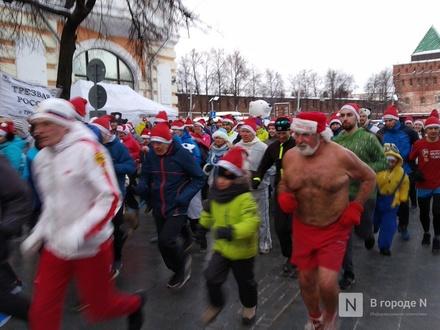 Деды Морозы пробегутся по Большой Покровской